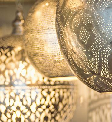 Accrochez (Plafond) Lumières Ghalia