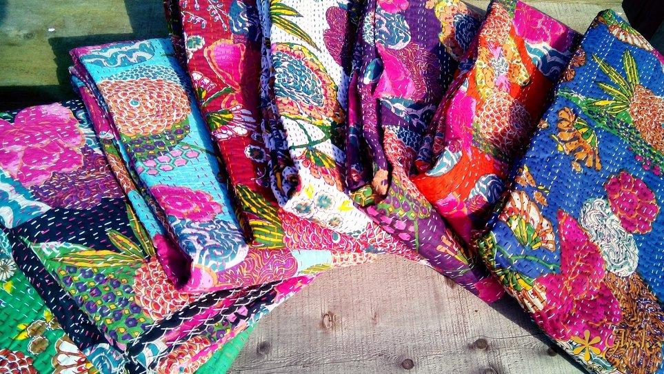 Quilts-Kantha