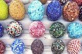 Mosaïque Lampe Egg_