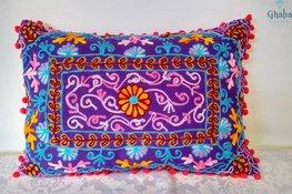 Oreillers Orientales Damali Purple 50 x 35