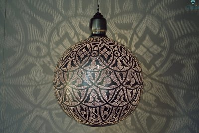Oosterse hanglamp Alhambra XXXL