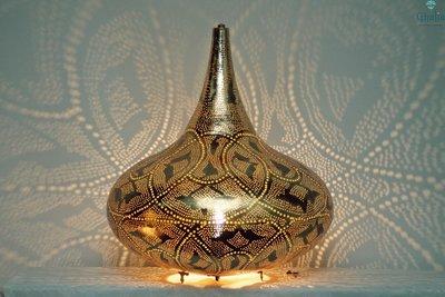 Oosterse staand lamp Yair