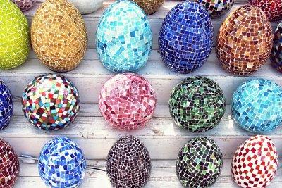 Mosaïque Lampe Egg