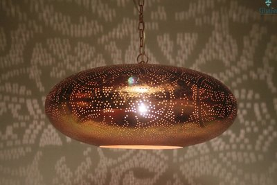 Oosterse Lamp Sheherazade koper