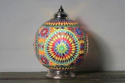 Mozaiek lamp Misbah